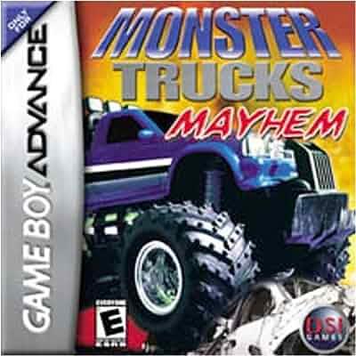 Monster Trucks Mayhem - Game Boy Advance