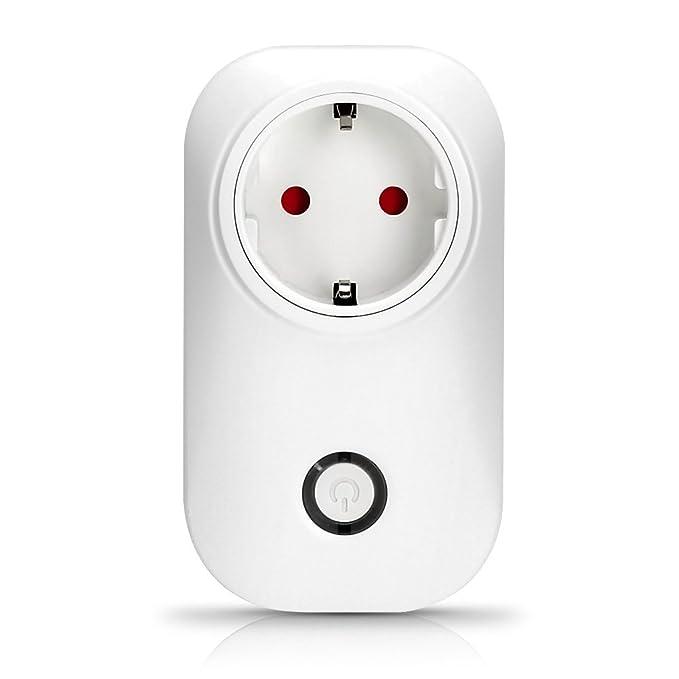 3 opinioni per Presa Intelligente Wifi Senza Fili con Interruttore Accesso Remoto Timer per IOS