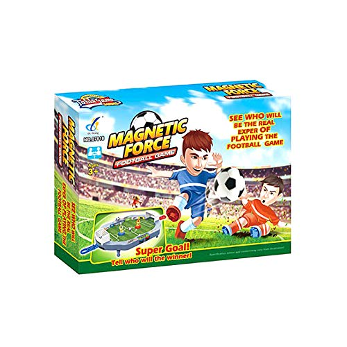 2020 Upgraded Table Football Machine, Mini Tabletops Soccer Game, Desktop Football Two Player Finger Sport Toy for Kids