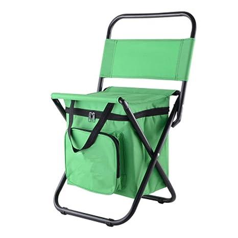 Backpage portátil silla plegable con bolsa de aislamiento de ...