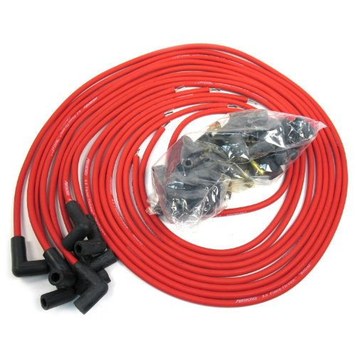 - Pertronix 808490 Flame-Thrower Red Universal 90 Degree 8mm 8 Cylinder Spark Plug Wire