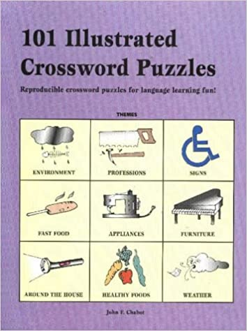 101 Illustrated Crossword Puzzles: Reproducible Crossword Puzzles