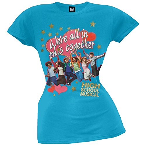 - Girls In This Together Girls T-shirt X-small Blue (High School Band T-shirts)
