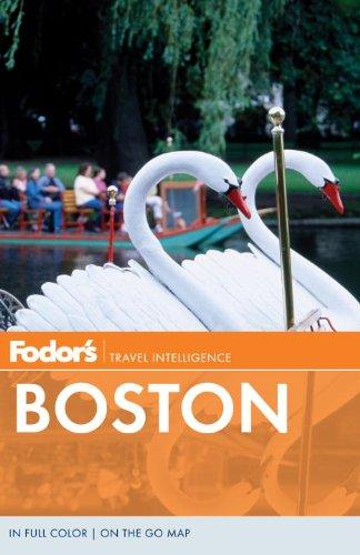 Fodor's Boston (Full-color Travel - Street Newbury Map Boston