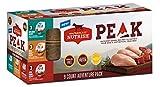 #1: Rachael Ray Nutrish PEAK Natural Wet Dog Food Variety Pack, Grain Free Adventure Pack, 3.5 oz. tub (Pack of 9)