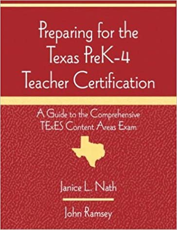 Preparing For The Texas Prek 4 Teacher Certification A