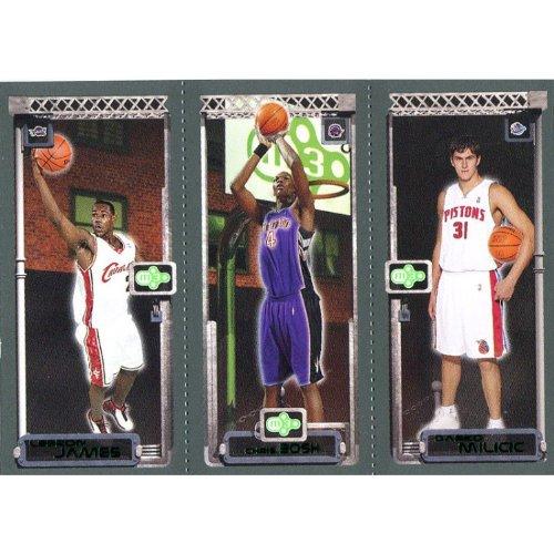 2004 Topps Nba Basketball - Chris Bosh Darko Milicic & LeBron James Unsigned 2003-2004 Topps Rookie Card - NBA Basketball Cards