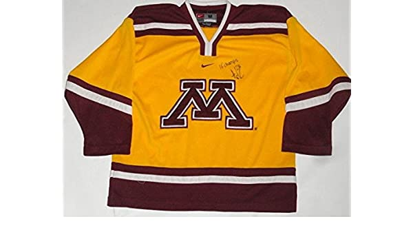 Amanda Kessel Signed Minnesota Golden Gophers Hockey Jersey 16 Champs Proof  - Autographed College Jerseys at Amazon s Sports Collectibles Store 1a92e212492