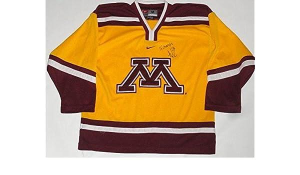 san francisco 90476 4831f Amanda Kessel Signed Minnesota Golden Gophers Hockey Jersey ...