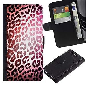 iBinBang / Flip Funda de Cuero Case Cover - Luz reflexiva Piel - Sony Xperia Z1 Compact D5503