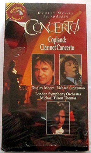 Dudley Moore Introduces Concerto! Volume 5 - Copland: Clarinet Concerto (Richard Stoltzman Clarinet)