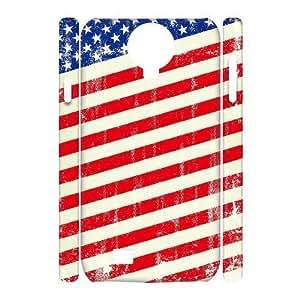 HB-P-CASE DIY Design American Retro Flag Pattern Phone Case For Samsung Galaxy S4 i9500