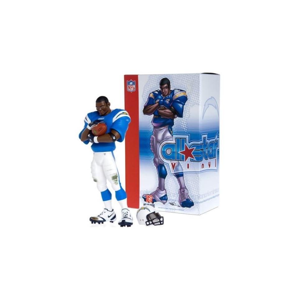 Upper Deck San Diego Chargers   LaDainian Tomlinson NFL All Star Vinyl (Powder Blue Uniform)