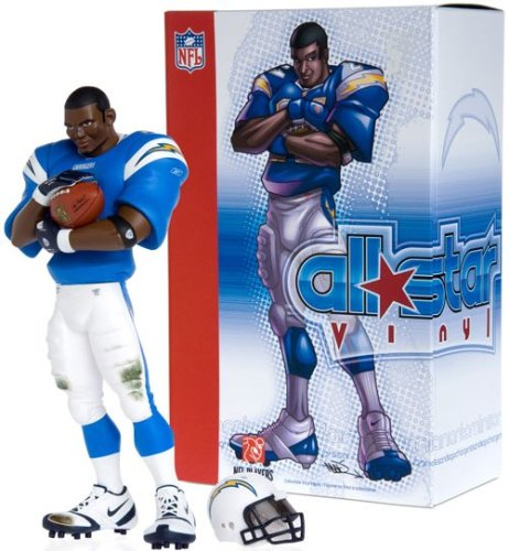 Upper Deck San Diego Chargers - LaDainian Tomlinson NFL All-Star Vinyl (Powder Blue Uniform)