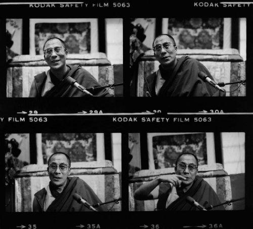 14x11 Christopher Felver Dalai Lama by