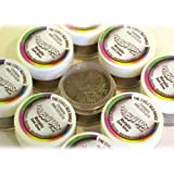 20 x Rainbow Dust Silk METALLIC Dark Silver Edible Cake Icing Food Colour Powder