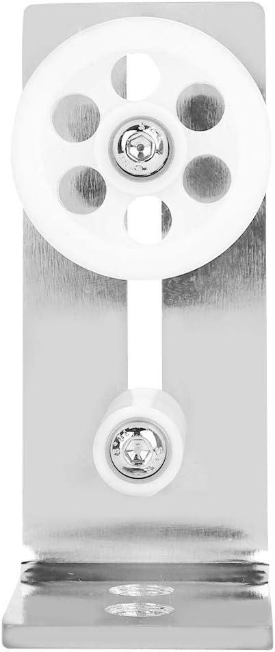 Silver for Doors for Floor Stay Roller Floor Guide Sliding Iron Roller Guide