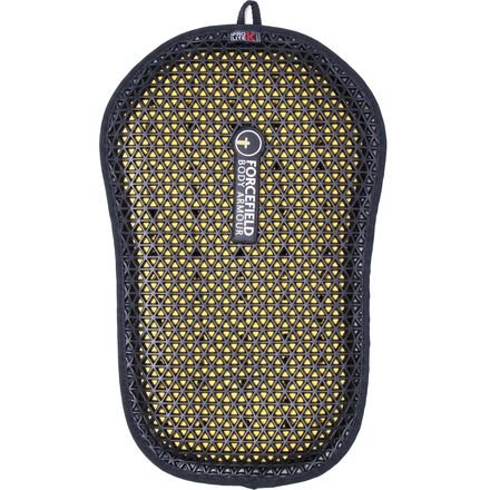Forcefield Body Armour Pro Lite K Back Insert (BLACK/YELLOW)