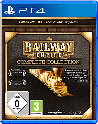 Railway Empire Complete Collection (PlayStation 4) [Importación alemana]