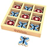 BeginAgain - Tic Bug Toe, Travel Sized Tic Tac Toe Game, Helps Promote Cooperative Play and Fine Motor Skills (For Kids 3 and Up)