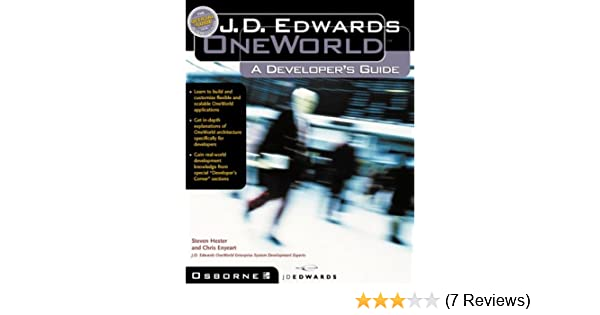 j d edwards oneworld a developer s guide steven hester chris rh amazon com JD Edwards 9.1 Logo JD Edwards 9.1 Logo