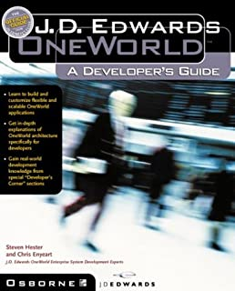 j d edwards oneworld a developer s guide steven hester chris rh amazon com