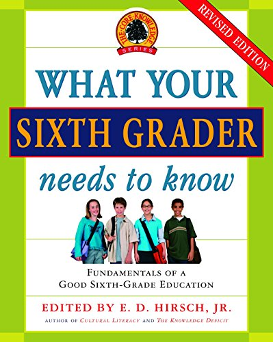 What Your Sixth Grader Needs to Know: Fundamentals of a Good Sixth-Grade Education, Revised Edition (The Core Knowledge -