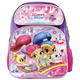 "Nickelodeon Shimmer And Shine 16"" Large School Backpack"