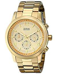 GUESS Men's U15061G2 Analog Display Quartz Gold Watch