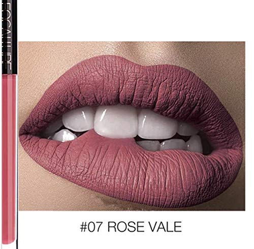 FOCALLURE Long Lasting, But not Dry Matte, Creamy Lipstick-#07-Rose Vale