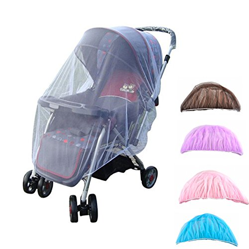 Stock Mosquito Insect Net Netting Baby Stroller Pushchair Safe Mesh Protector