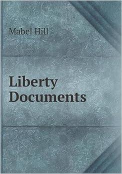 Book Liberty Documents