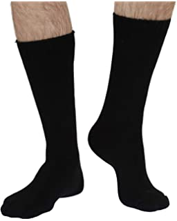 Jackie women/'s soft plain bamboo crew socks in purple3 pair bundle