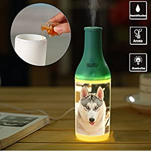 Spa Essential Oil Diffuser Compact Ultrasonic Aromatherapy Diffuser With Ionizer USB for Bedroom Home Office Car-660__ white, animal, canine, pet, fur, vertebrate, domestic, dog breed,