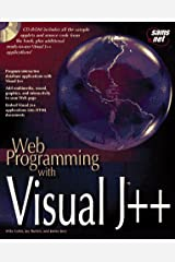 Web Programming With Visual J++ Paperback