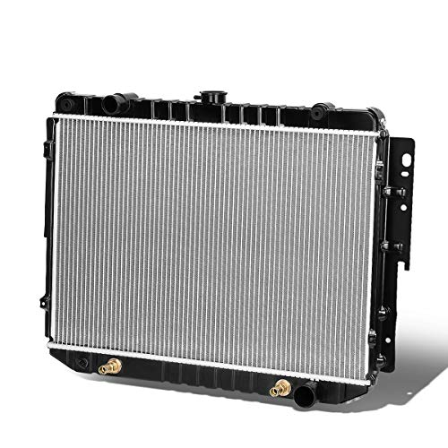 1707 Factory Style Aluminum Radiator for 84-03 Dodge B-Series/Ram Van 3.9L/5.2L/5.9L AT