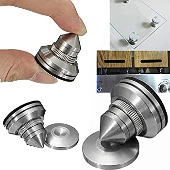 Amazon Com F Ber 4 Sets Stainless Steel Speaker Spike