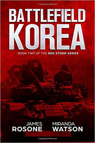 battlefield korea book two of the red storm series
