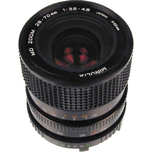 MINOLTA MD28-70MM 28-70MM f/3.5 - 4.8 MD Manual Focus Lens