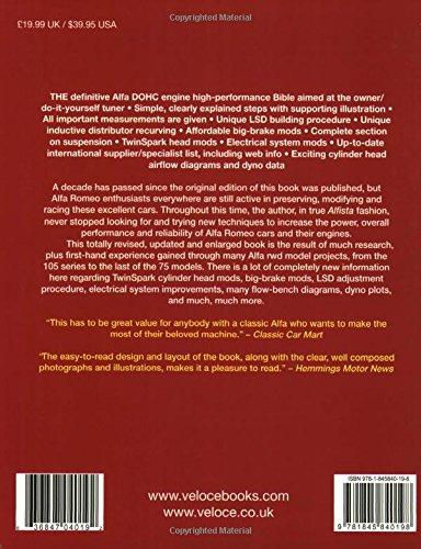 Alfa Romeo DOHC High-performance Manual SpeedPro Series: Amazon.es: Jim Kartalamakis: Libros en idiomas extranjeros