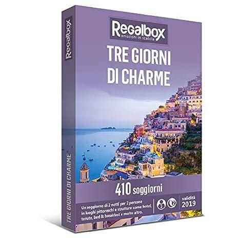Regalbox - Tre giorni di charme - Cofanetto regalo: Amazon.it: Sport ...