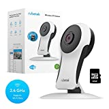 Rubetek WiFi Home Security Camera HD-Wireless Security IP Camera with Motion Detection-Night Vision System-Pet Camera-Nanny Cam-Indoor House Camera Video Surveillance Kit with 32 Gb Micro SD Card