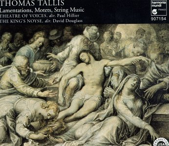 Tallis: Lamentations, Motets, String Music by Harmonia Mundi Fr.