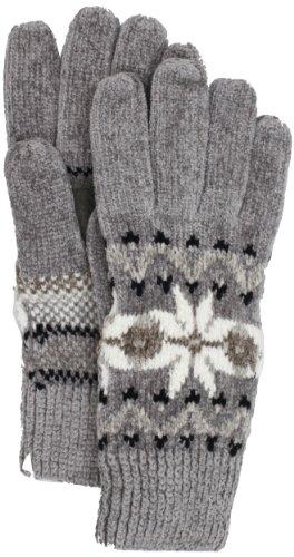 Isotoner Women's Snowflake Chenille Palm Glove