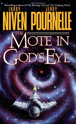 Book cover from The Mote in Gods Eye by Larry Niven