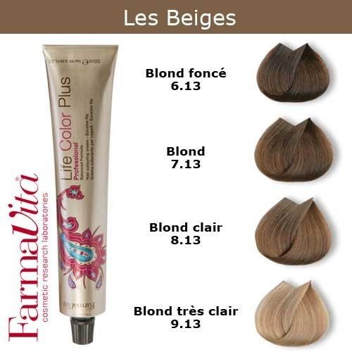 Coloration Cheveux Farmavita Tons Beiges Blond Foncé Beige 613