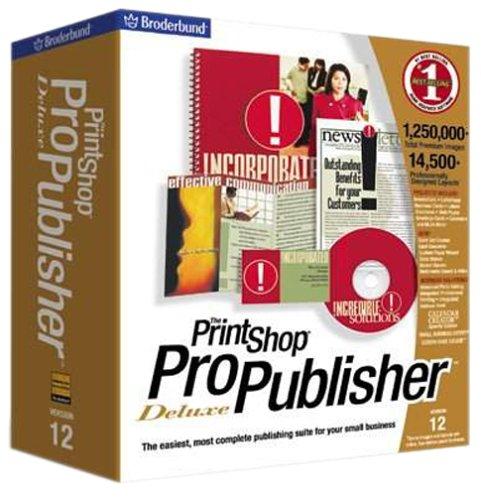 Mattel The Print Shop Pro Publisher Deluxe 12.0