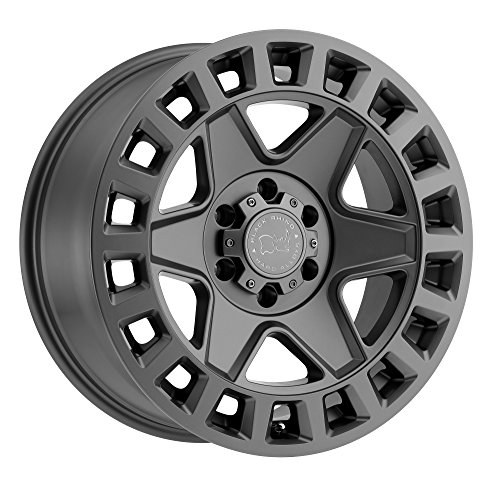 - Black Rhino York Custom Wheel - Matte Gunmetal 17
