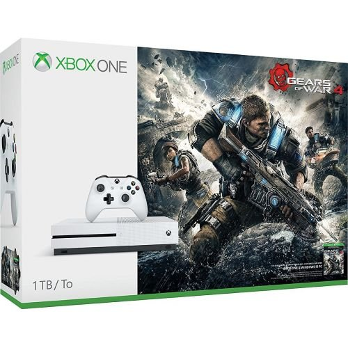 Photo - Microsoft Xbox One S 1TB Console - Gears of War 4 Bundle