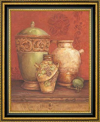 Tuscan Urns I by Pamela Gladding - 26.25